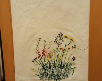 Little Garden Tea Towel