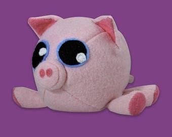 DIY plush pig felt sewing kit