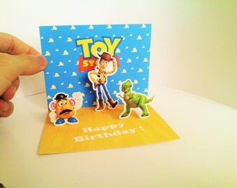 Toy Story Birthday 3D Card