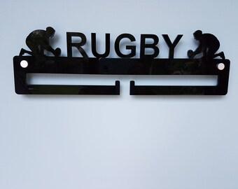 Rugby Medal Hanger / Medal Holder