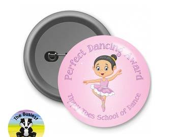 Custom Dancing Badges, Dance School Badges, School Badges, Dance Class Badges, Custom Button Badges, Personalised Badges, Charity Badges