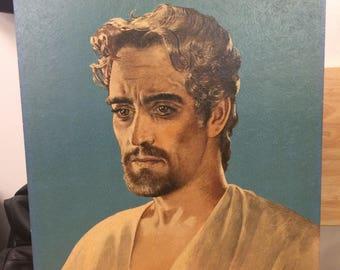 Somber Jesus Painting