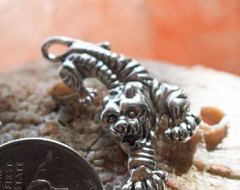 Tiger Charm, metal alloy