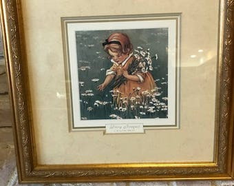 Set of two beautifully framed J. Wilcox Smith prints in excellent condition