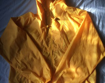 Vintage Earth Outfitters Yellow Rain Jacket