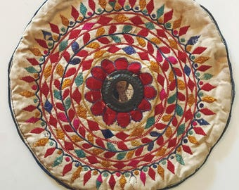 Vintage Indian Tribal Cushion Cover