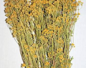 Dried Tansy | Dried Yellow Flower | DIY Wedding | Yellow Wedding | Yellow Tansy Flower