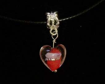 Heart Clear Effect Necklace