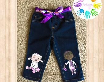 Disney Doc Mcstuffins Character Jeans/ Clothing