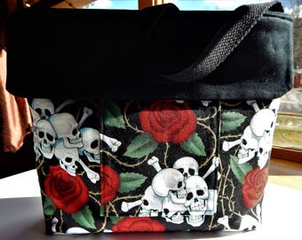 Skulls and Roses Bag