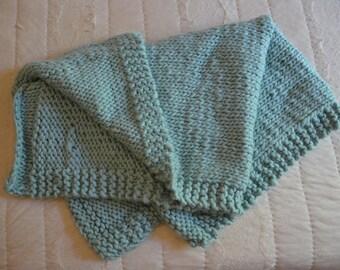 Peruvian Wool Blend Baby Blanket Medium