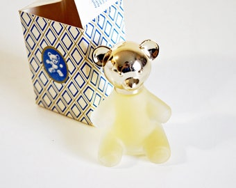 VINTAGE Teddy Bear Decanter - Sweet Honesty Cologne by AVON, 1 Fl. Oz.