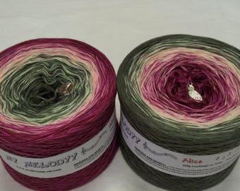 Wolltraum Alice 4 Ply Gradient Yarn