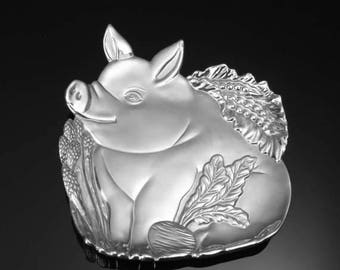 PIGGY plate by Fitz and Floyd