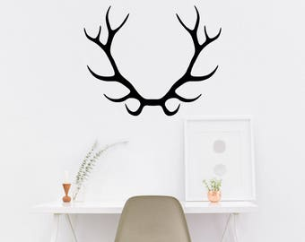 Deer Antler Decal
