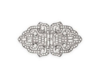 Deco Bouquet Brooch or Shoe Clip