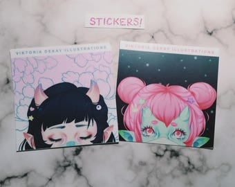 Candy Demons stickers