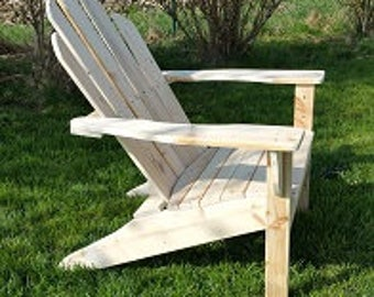 Adirondack Chair - because it is much more convenient!