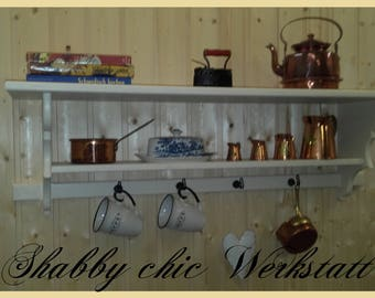 Kitchen shelf, wall shelf, towel rack
