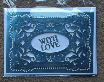 Stunning handmade greeting card