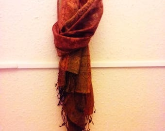 Beautiful Silk and Cashmere Scarf