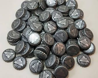 Beer Bottle Caps - Coors Light - grey caps -gray beer caps - recycled - upcycled- repurposed - for crafting -Lot of 100 caps