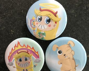 Star vs. The Forces of Evil Pins
