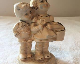HUMMEL Figurine Boy & Girl w/ Basket