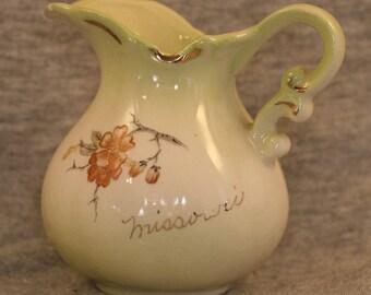Missouri Souvenier Vintage Creamer