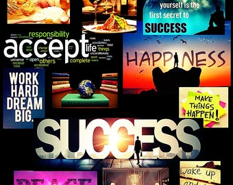 Hard work, Success Vision Board