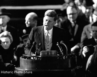 Inauguration Speech of John F. Kennedy January 20, 1961