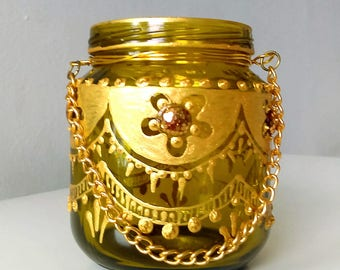 Moroccan Tea Candle 4