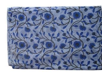Indian Style Handblock Printed 100% Cotton Bedsheet