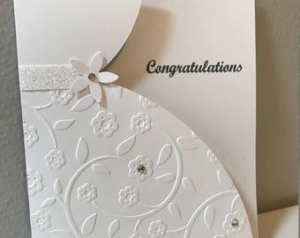 Wedding, Bridal Shower Handmade Stampin' Up! Card