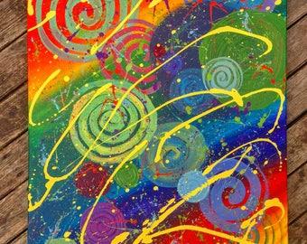 Splatter Rainbow