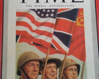 May 14, 1945 Time Magazine