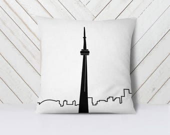 Toronto Throw Pillow Cover