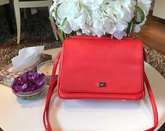Vintage D&G Red Bag (S/S13)