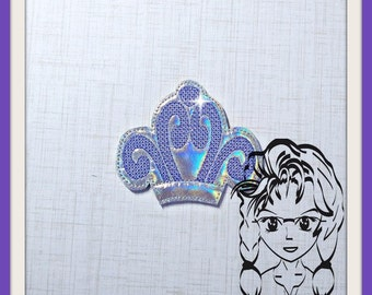 CRoWN 1st PRiNCESS CHiLD (Add On ~ 1 Pc) Mr Ms Mouse Ears Headband ~ In the Hoop ~ Downloadable DiGiTaL Machine Embroidery Design by Carrie