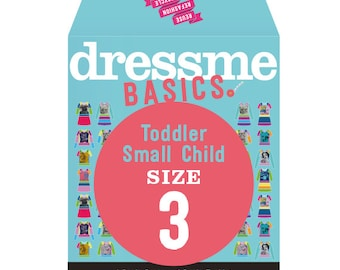 Dressme Basics - Pattern SIZE 3 - 1 Dress and 1 T-shirt - 1000s of possibilities