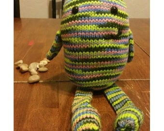 READY TO SHIP: Jack the Monster, Knit with Love