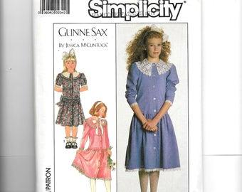 Simplicity Girls' Dress Pattern 8193