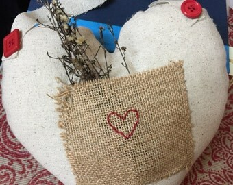 Valentine Embroidered Love Hanging Heart