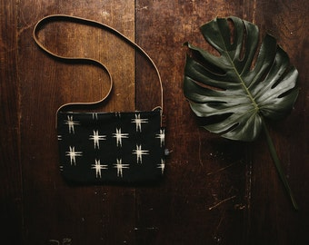 Kari Crossbody Bag-Kasuri print
