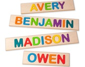 Children's Personalized Wooden Name Puzzle