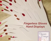 Hand Displays for Fingerless Gloves. 5 sets. For Crafts Shows #2