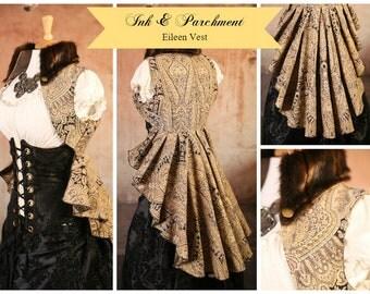 Size M   Ink & Parchment Eileen Vest