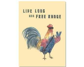 Free Ranger Archival Print