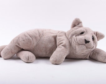 Quarry Critters, Stone Kitty, Cute, Plush, Cat, Wrinkly, Stuffed Animals ~ The Pink Room ~ 161025