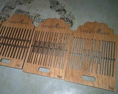 Heddle for the Handywoman Box Tape Loom (Cherry)